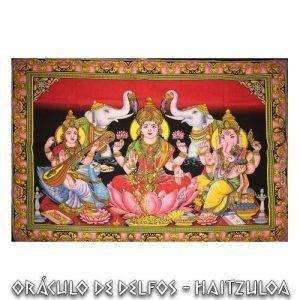 Familia Krishna Ganesha Pervati
