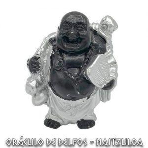 Buda Happy Negro y Plata