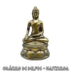 Buda Bronce mudra Bhumisparsha