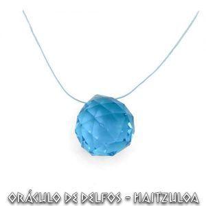 Bola Facetada azul 40 mm