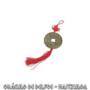 Amuleto Moneda Feng Shui Pequeña