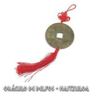 Amuleto Moneda Feng Shui Grande