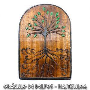 Tabla madera árbol de la vida