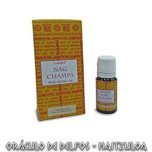 Aceite Goloka Nag Champa