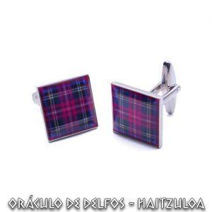 Gemelos tartán escocés