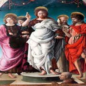 Cristo y Santos