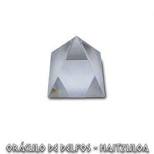 Pirámide de Cristal 7 cms