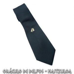 Corbata Acacia oro