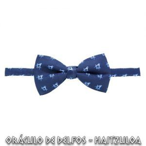 Pajarita escuadra Compas azul
