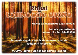 Ritual Equinoccio Otoño