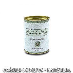 Conos de reflujo Goloka Salvia Blanca