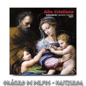 Calendario Año cristiano 2021