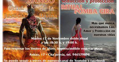 Martes 17 doble ritual en Oráculo de Delfos