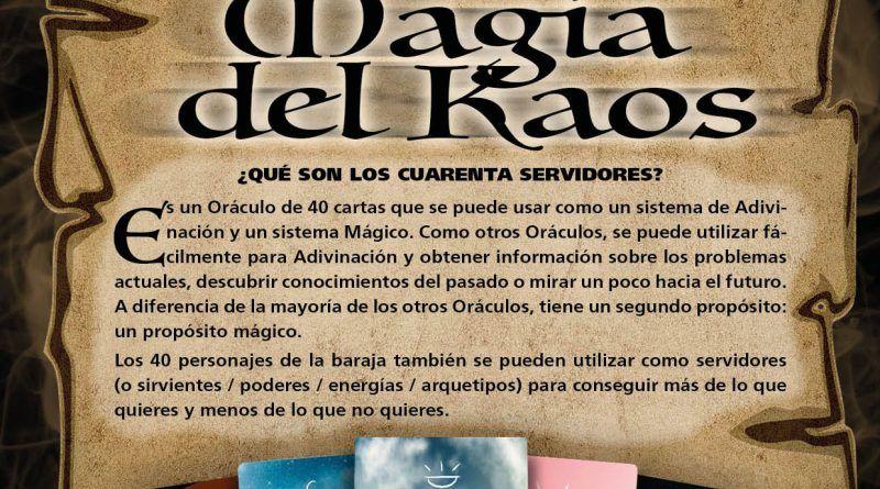 Curso de Tarot. Magia del Kaos