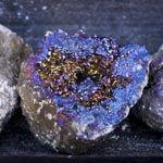 Drusas, Geodas y otras piezas en bruto
