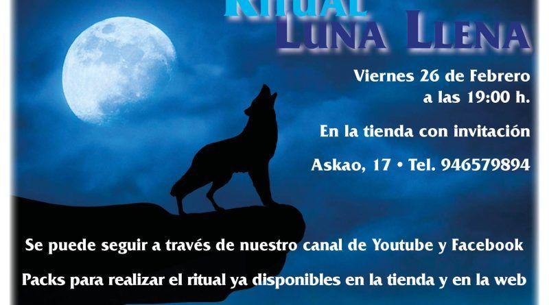 Ritual Luna llena - 26 Febrero