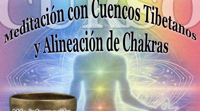 Curso Meditación con Cuencos Tibetanos y Alineación de Chakras