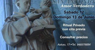 Ritual especial San Antonio