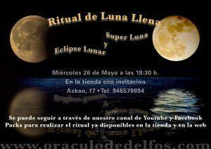 Ritual Luna llena - 26 Mayo