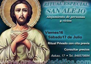 Ritual especial San Alejo