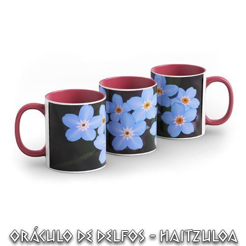 Taza Forget me not
