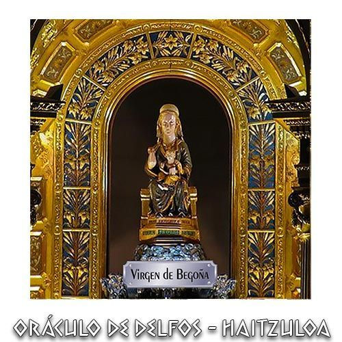 Azulejo Virgen de Begoña antigua