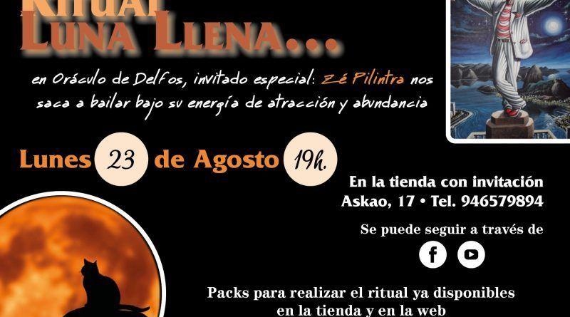 Ritual Luna llena - 23 Agosto