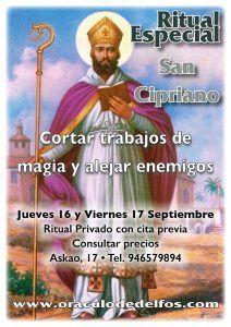 Ritual San Cipriano