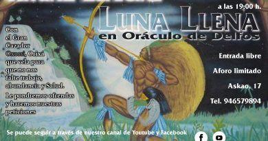Ritual Luna llena Oxossi